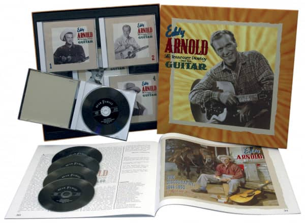 The Tennessee Plowboy And His Guitar (5-CD Deluxe Box Set)