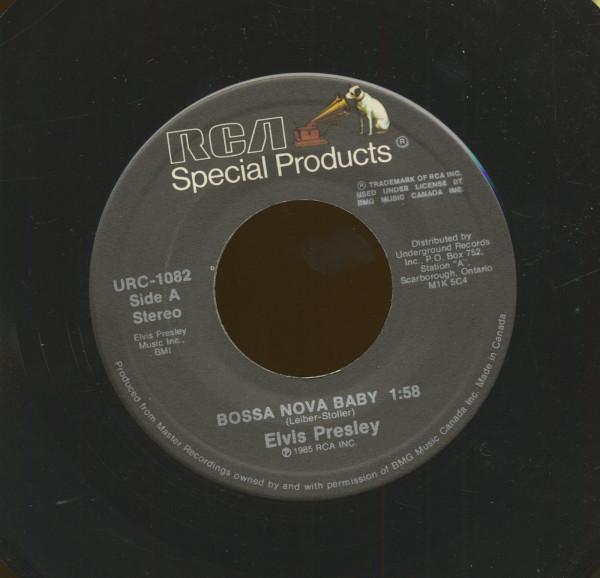 Bossa Nova Baby - Follow That Dream (7inch, 45rpm)