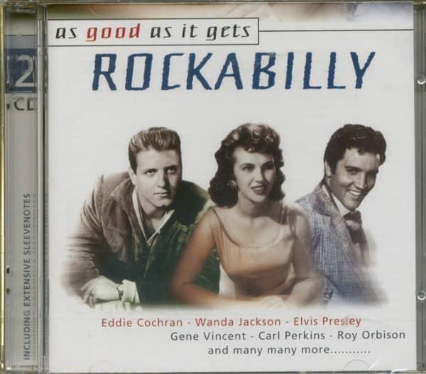 As Good As It Gets - Rockabilly 2-CD