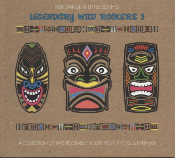 Various Vol.3, Legendary Wild Rockers