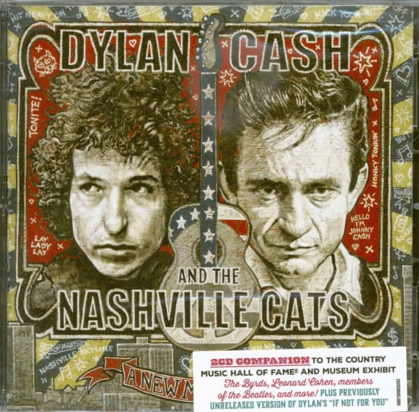 Dylan Cash & the Nashville Cats: A New Music City (2-CD)