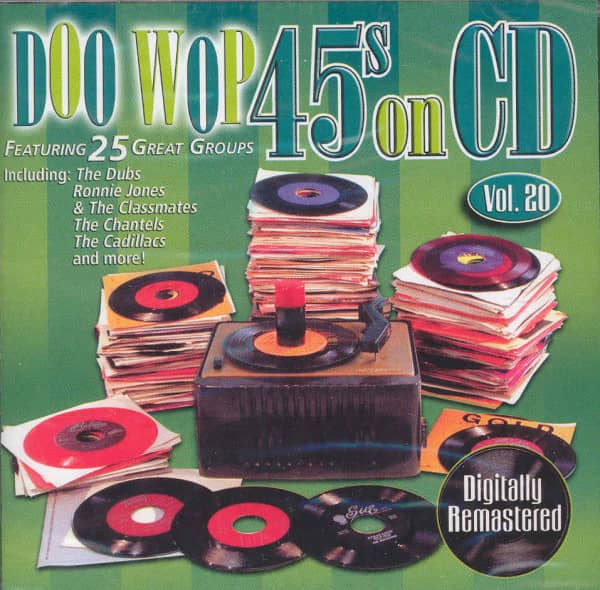 Va Vol.20, Doo Wop 45s On CD