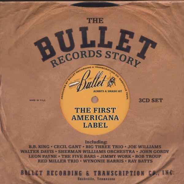 Va The Bullet (Nashville) Record Story (3-CD)
