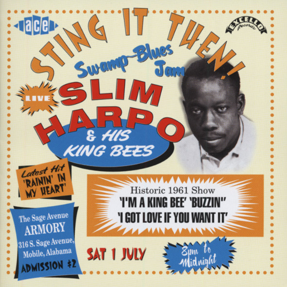 Harpo, Slim Sting It Then - Live!
