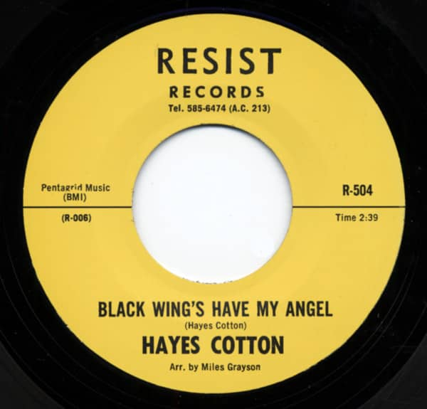 Black Wing's Have My Angel b-w I'll Be Waiting 7inch, 45rpm