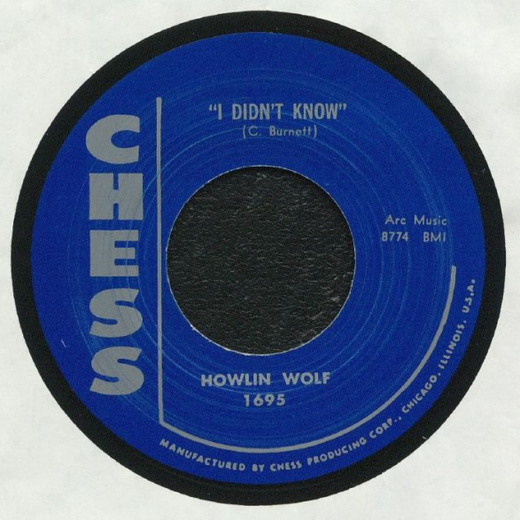 I Didn't Know - Moanin' For My Baby (7inch, 45rpm)