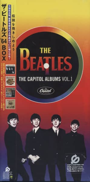 Beatles The Capitol Albums Vol.1 (4-CD Stereo & Mono) Japan Box