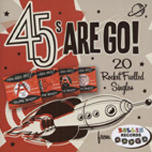 Va 45s Are Go - 20 Rocket Fuelled 45s...plus