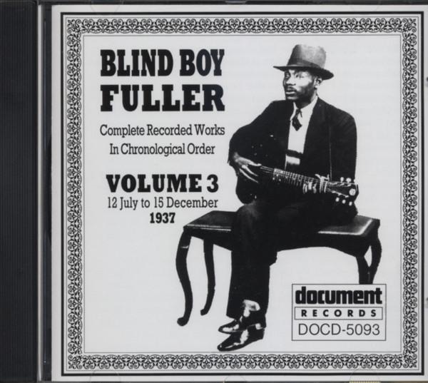 Fuller, Blind Boy Complete Recordings Vol.3
