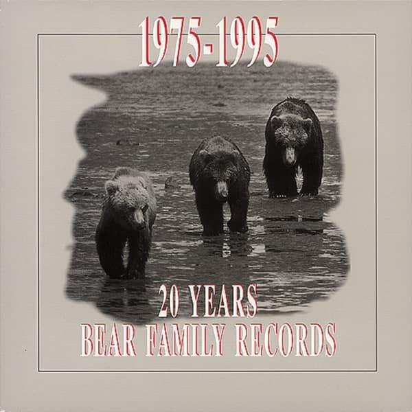 20 Years Bear Family (4-CD & Buch)