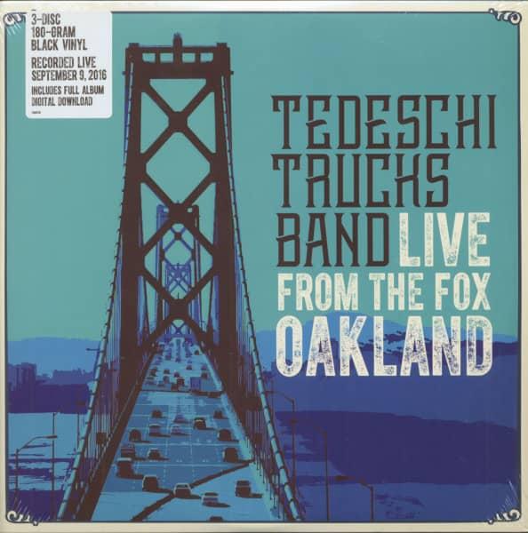 Live From The Fox Oakland (3-LP, 180g Vinyl)
