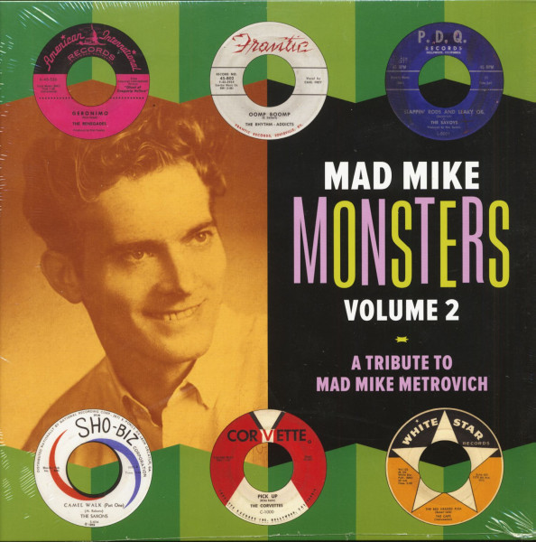Mad Mike Monsters Vol.2 - A Tribute To Mad Mike Metrovich (LP)