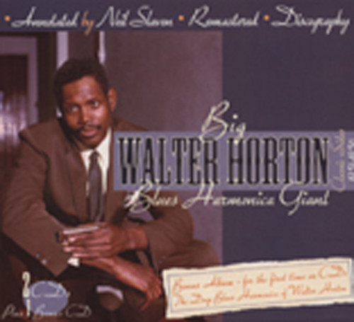 Horton, Walter Blues Harmonica Giant (3-CD)