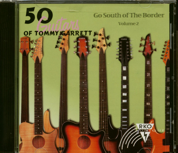 50 Guitars Of Tommy Garrett - Go South Of The Border Vol.2 (CD)