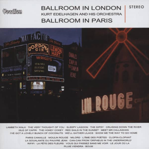 In London (1960) & Ballroom In Paris (1961)