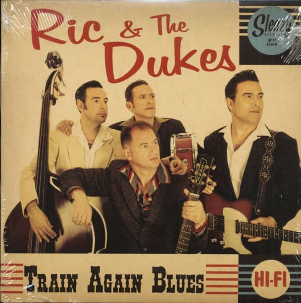 Here I Am - Train Again Blues (7inch, 45rpm, PS)