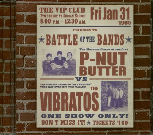 Battle Of The Bands - P-Nut Butter vs Vibratos (CD)