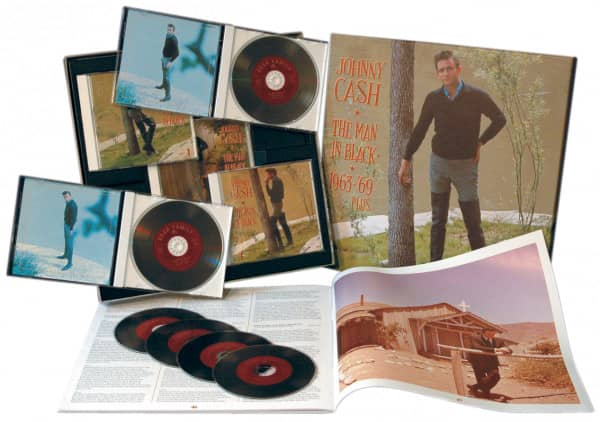 Man In Black 1963-69 Vol.3 (6-CD Deluxe Box Set)
