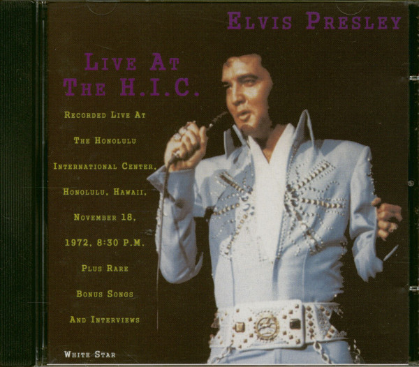 Live At The H.I.C. (CD)