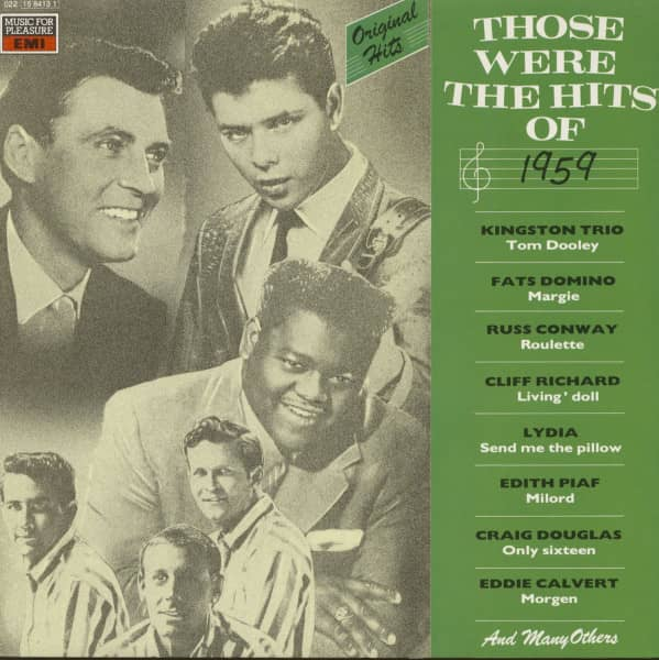 Those Were The Hits Of 1959 (LP)
