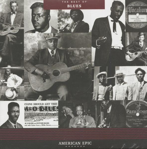 The Best Of Blues - American Epic Series (LP, 180g Vinyl)