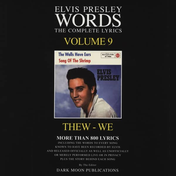 Words Vol.09 - The Complete Lyrics THEW-WE