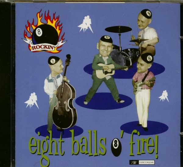 Eight Balls O' Fire (CD)