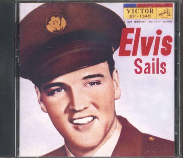 Elvis Sails - The Press Interviews (CD, Japanese Version)