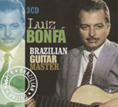 Bonfa, Luiz Brazilian Guitar Master (3-CD)