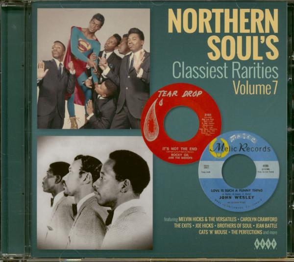 Northern Soul's Classiest Rarities Vol.7 (CD)