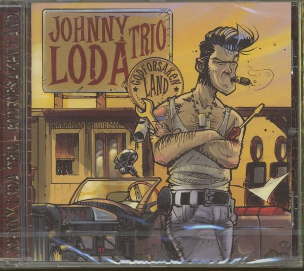 Johnny Loda Trio - Godforsaken Land (CD)