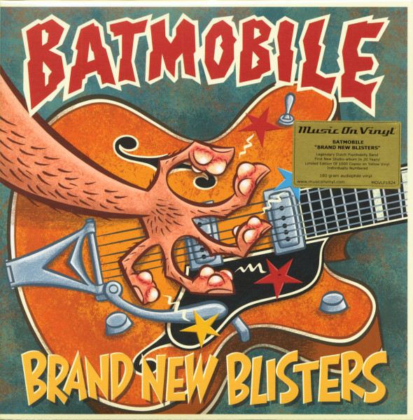 Brand New Blisters (LP, 180g Vinyl)