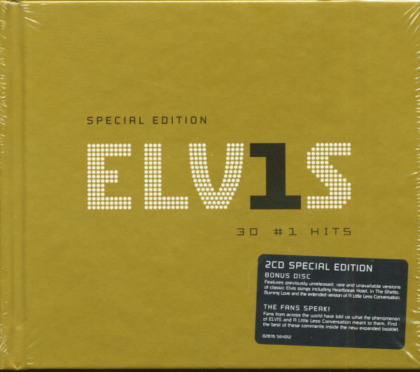 Special Edition - ELV1S 30 #1 Hits (2-CD Digibook)