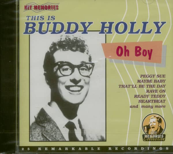 Oh Boy, This Is Buddy Holly (CD)