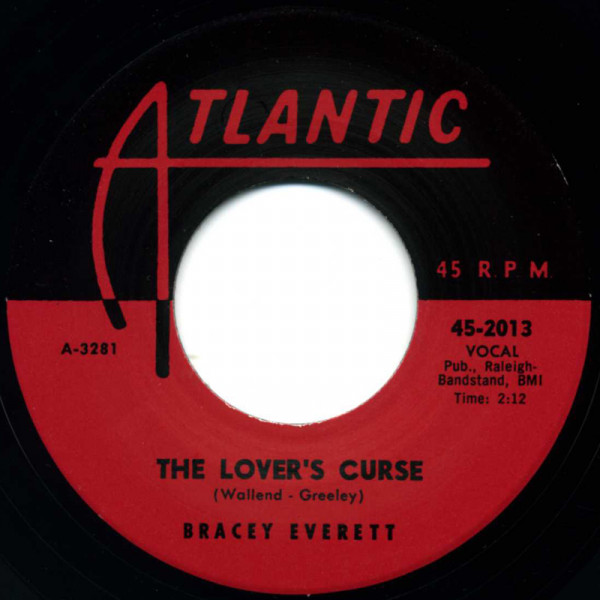 The Lover's Curse - I Want Your Love 7inch, 45rpm
