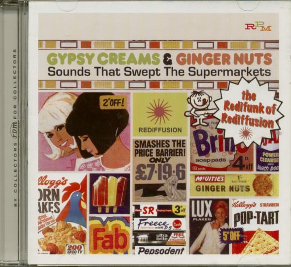 Gypsy Creams & Ginger Nuts (CD)