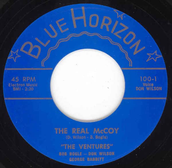 The Real McCoy b-w Cookies And Coke 7inch, 45rpm