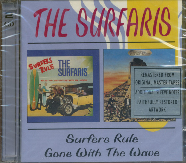Surfaris Surfers Rule & Gone With The Wave (2-CD)