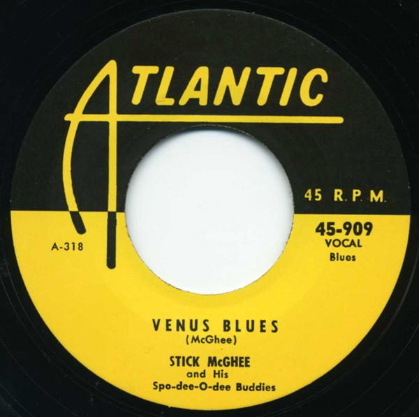 Drank Up All The Wine ... - Venus Blues 7inch, 45rpm