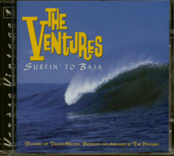 Surfin' To Baja (CD)