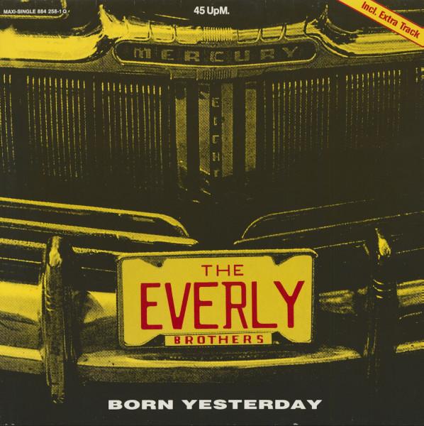 Born Yesterday (EP, 12inch, Maxi, 45rpm)
