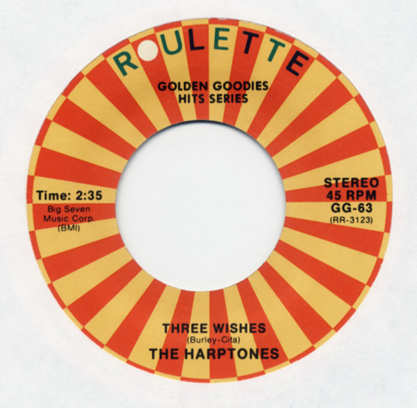 Three Wishes b-w Why You Do Me Like You Do 7inch, 45rpm