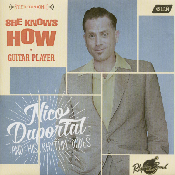 She Knows How - Guitar Player (7inch, 45rpm, PS)