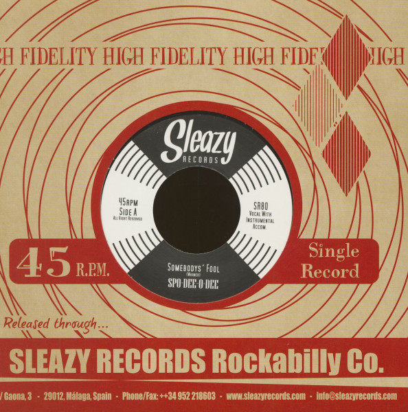 Somebody's Fool - Lil' Lucy (7inch, 45rpm, CS)