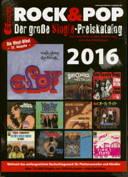 2016 Rock & Pop (inkl. DVD)