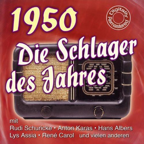 Die Schlager des Jahres 1950 (2-CD)