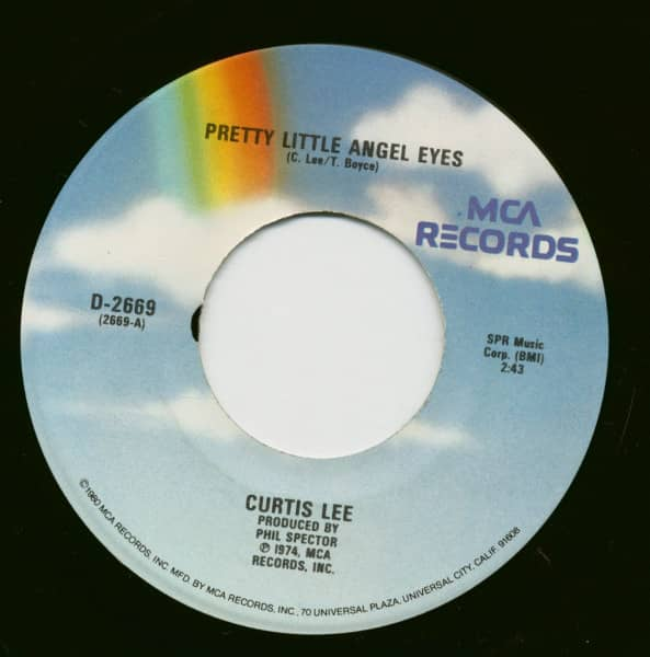 Pretty Little Angel Eyes - Gee How I Wish You Were Here (7inch, 45rpm)
