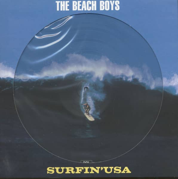 Surfin' USA (Picture-LP, 180g Vinyl)