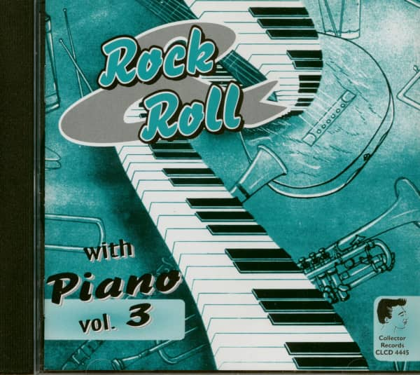 Rock & Roll with Piano Vol.3 (CD)