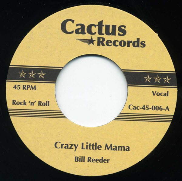 Crazy Little Mama - The Snake 7inch, 45rpm